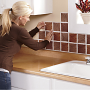 Self Stick Backsplash Tiles