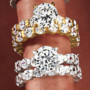 Round Eternity Bridal Set