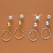 3 Pair Earring Set