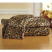 300 Thread Count Leopard Sheets
