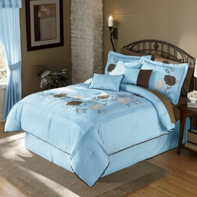 Valentina 7 Piece Embroidered Bed Set