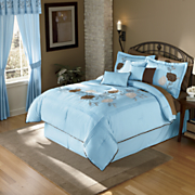 Valentina Embroidered Bed Set and Window Treatments