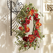 poppy berry wreath