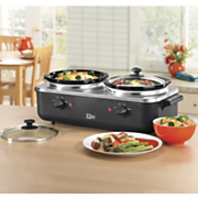 Elite Platinum Edition Dual Slow Cooker Buffet