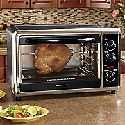 Toaster rotisserie Convection Oven By Hamilton Beach