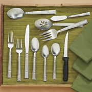 53 pc Manhattan Frost Flatware Set