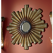 Mirror Metal Deco Sunburst
