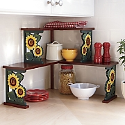 Sunflower Corner Shelf
