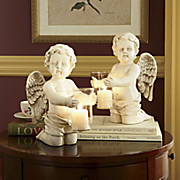 Cherub Candleholders Set Of 2