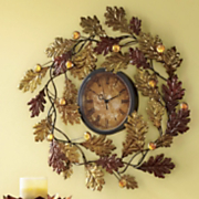 Oak Leaf Clock