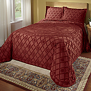 Bedspread Solid Cotton Chenille