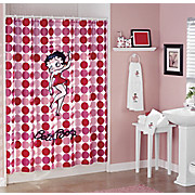 Shower Curtain 3 Pc Bath Towel Set and 3 Pc Bath Accessories Set Hello Betty