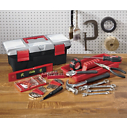 household toolbox and 53 pc tool kit