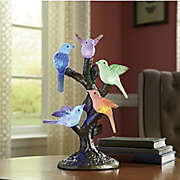 Color changing Birds On Stand