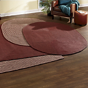 Ultra Braided Oval Rug