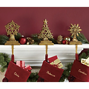 Christmas Riches Stocking Holders