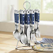 20Pc Hanging Flatware
