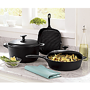 5Pc Prsn Cast Iron Cookwr