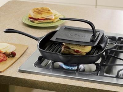 Cast Iron Panini Set
