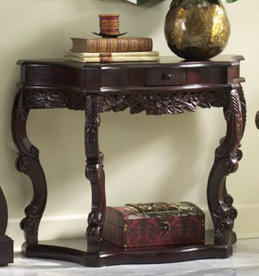 Carved Curved Table