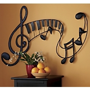 Wall Art Metal Musical
