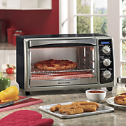 4 slice convection toaster oven by black decker