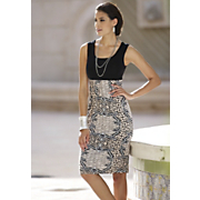 animal magnetism sleeveless dress