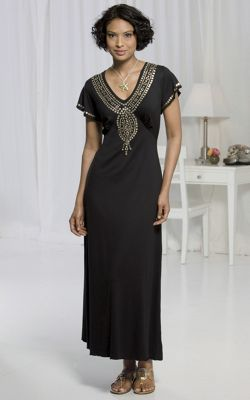 Exotic Maxi Length Dress 1