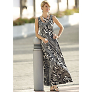 beautifully biased maxi dress