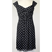 polka dot mesh dress 144