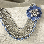 Necklace Denim