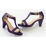 T Strap Purple By Monroe And Main
