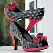 Pump By Monroe And Main Polka Dot