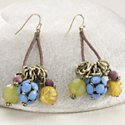 colorbead earrings