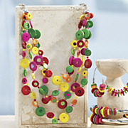 bright as a button necklace