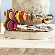bright as a button bracelet