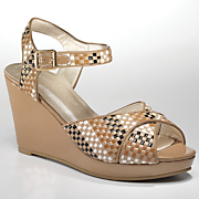 sunny isle basket weave wedge by monroe and main