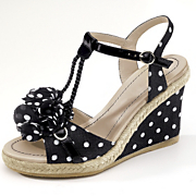 polka dot wedge by monroe and main