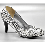 snake print pump by monroe an main