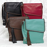 whipstitch large sidebag