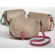 contrast saddle bag