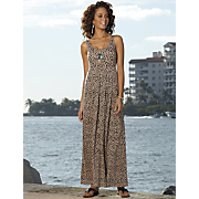 Shelf Bra Animal Maxi Dress 1
