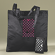polka dot foldable bag