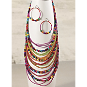 beaded necklace 18