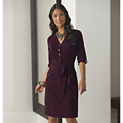Knit Shirtdress 1