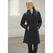 Portrait Collar Down Jacket