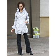 Bubble Coat Cinch Waist