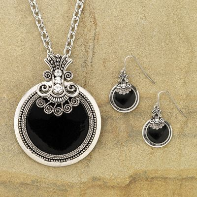 Scroll Jewelry Set
