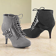 Two buckle Bootie By Classique