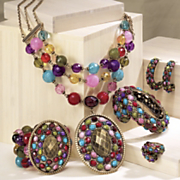 Multicolor Elliptical Jewelry